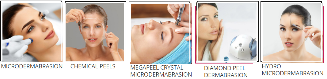 Microdermabrasion helps produce thicker